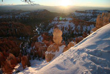 雪のブライスキャニオン 2005